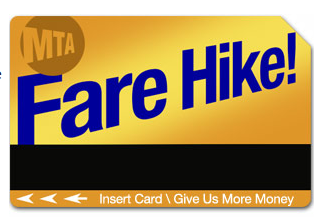 MTA Fare Change Alert
